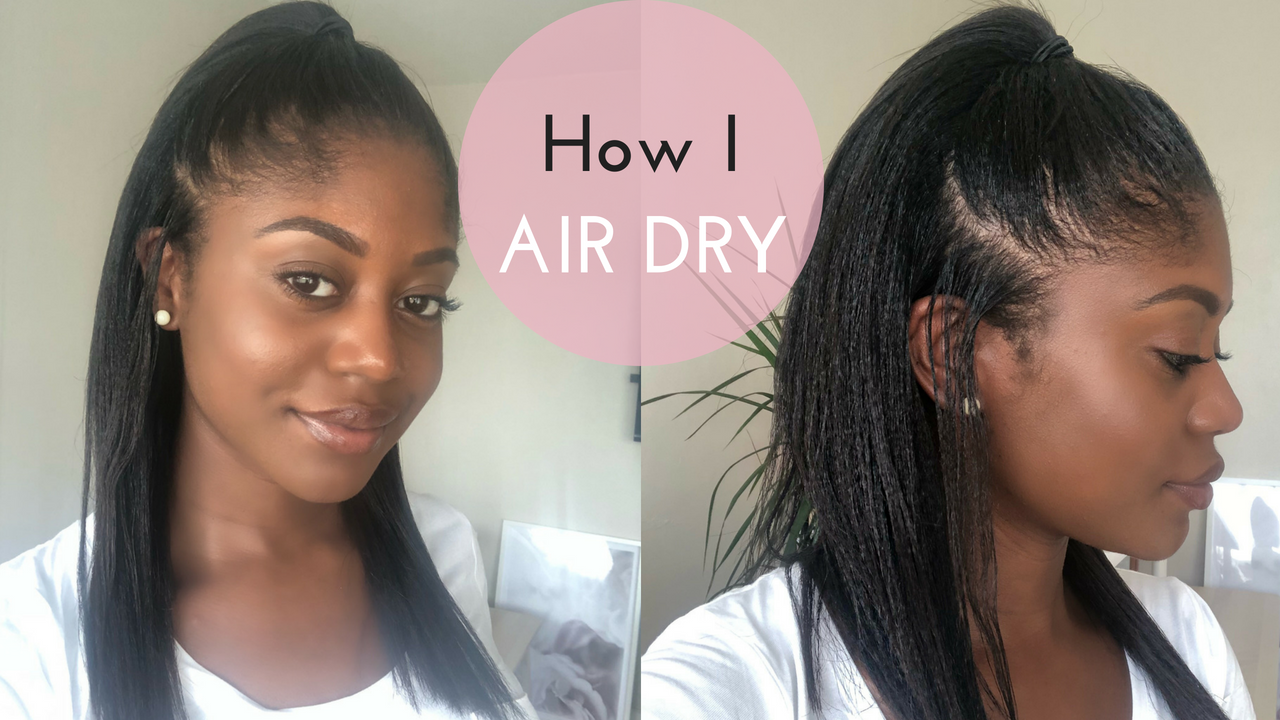 Healthy Hair Junkie | How I Air Dry My Hair